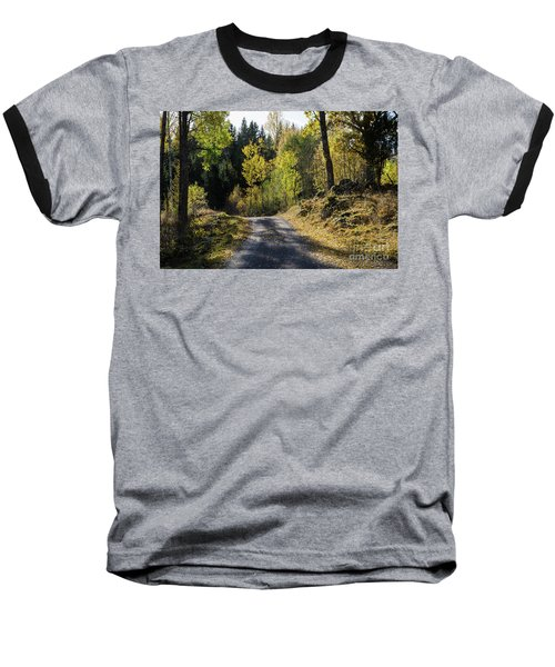 Exploring The Fall Season Baseball T-Shirt