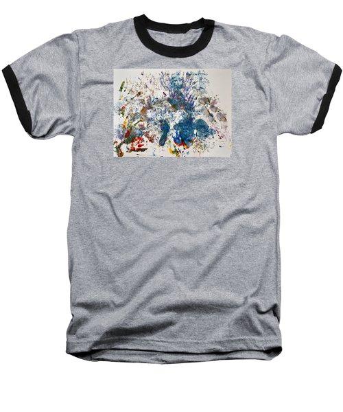 Explosion At The Macaroni Factory Baseball T-Shirt