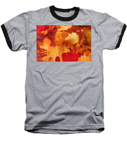 Explosion From The Galaxy Baseball T-Shirt