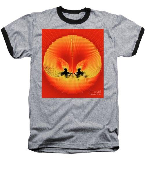 Explosive Eruption Baseball T-Shirt