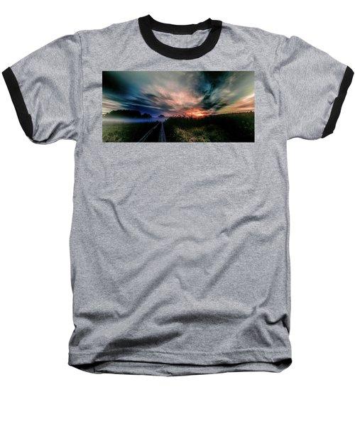 Explosive Morning #h0 Baseball T-Shirt