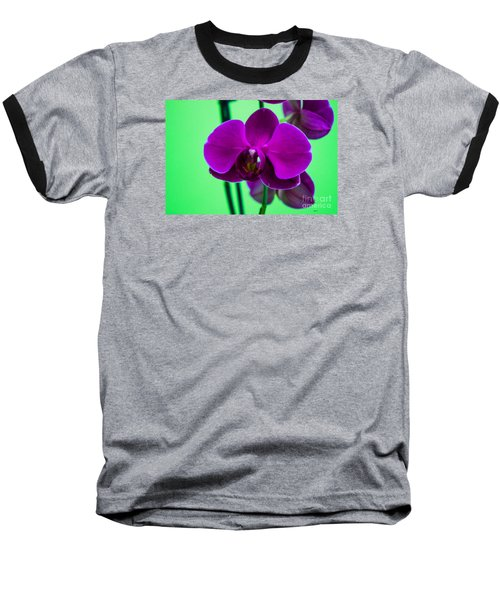 Exposed Orchid Baseball T-Shirt