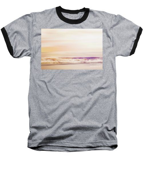 Expression - Dreams On The Shore Baseball T-Shirt by Janie Johnson