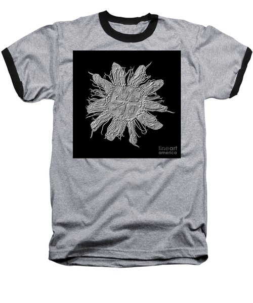 Expressive Passion Flower Manipulation 50674k3 Baseball T-Shirt