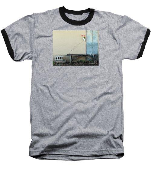 Baseball T-Shirt featuring the photograph Exterior Decorator by Joe Jake Pratt