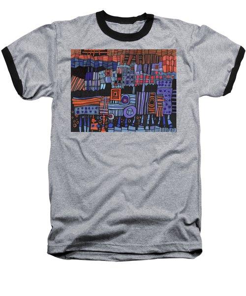 Exterior Facade Baseball T-Shirt