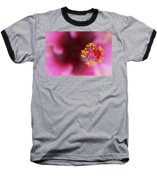 Extreme Hibiscus Baseball T-Shirt