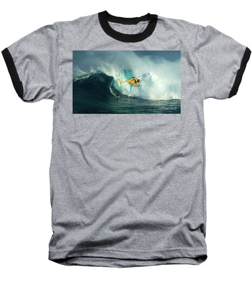 Extreme Surfing Hawaii 6 Baseball T-Shirt