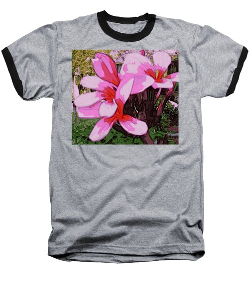Exuberance Baseball T-Shirt by Winsome Gunning