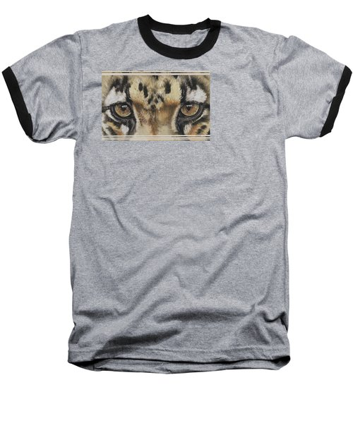 Eye-catching Clouded Leopard Baseball T-Shirt