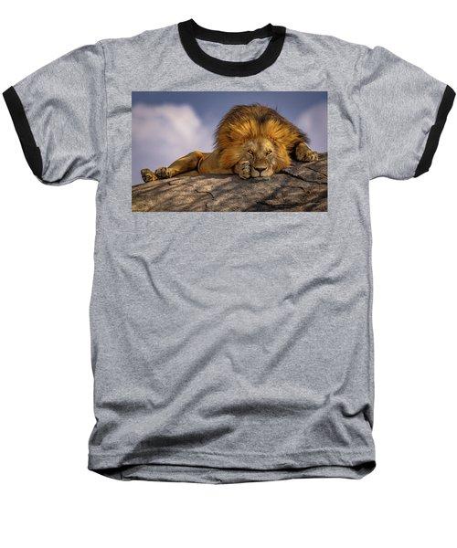 Eye Contact On The Serengeti Baseball T-Shirt