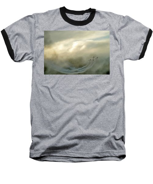 Baseball T-Shirt featuring the photograph Eye In The Sky by Dubi Roman