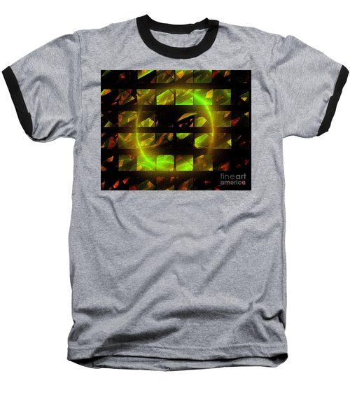 Eye In The Window Baseball T-Shirt