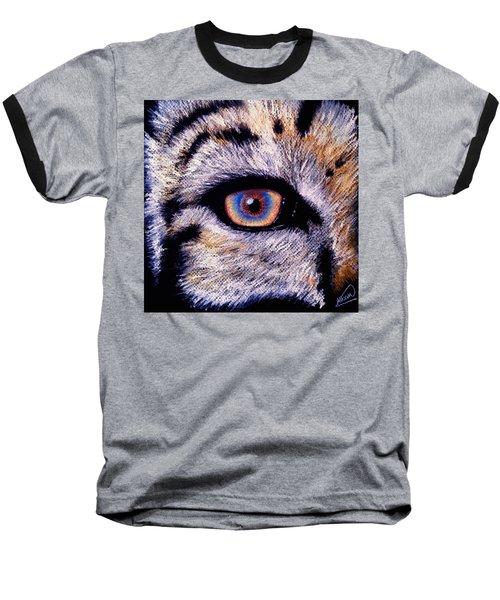 Eye Of A Tiger Baseball T-Shirt