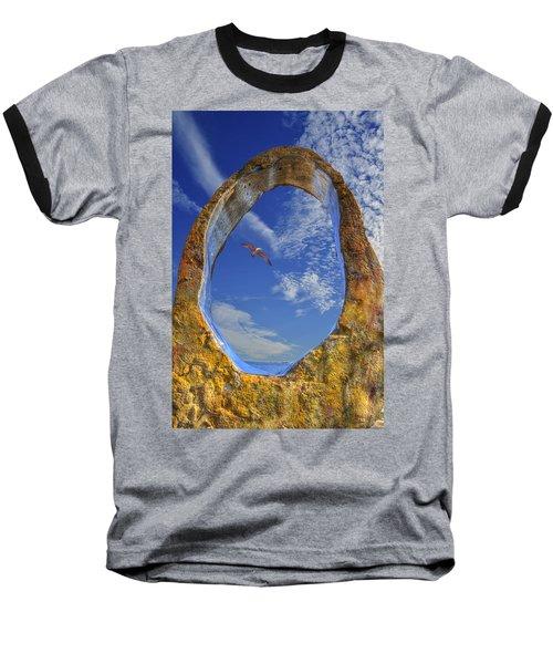 Eye Of Odin Baseball T-Shirt by Paul Wear