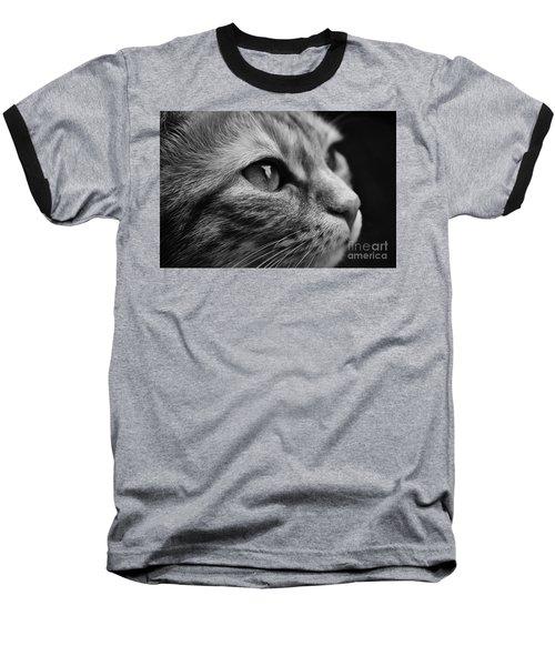 Eye Of The Cat Baseball T-Shirt