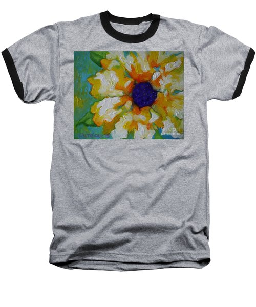 Eye Of The Flower Baseball T-Shirt by Alison Caltrider