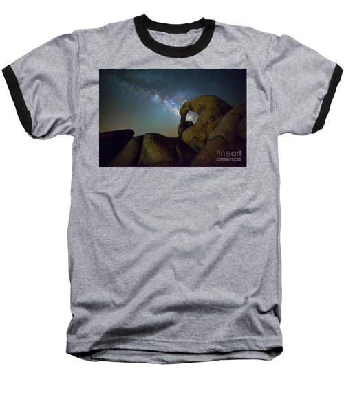 Eye Of The Milky Way Baseball T-Shirt