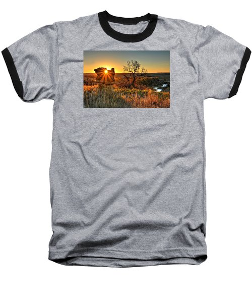Eye Of The Monolith Baseball T-Shirt