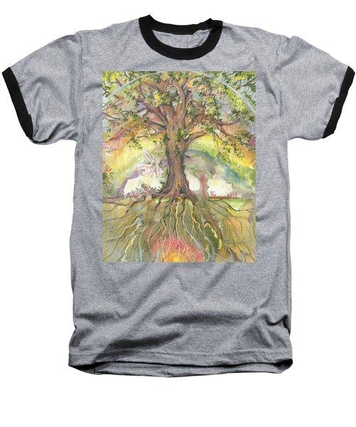 Eye See My Healing Tree Baseball T-Shirt
