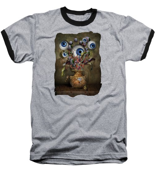 Eye See Still Life Baseball T-Shirt