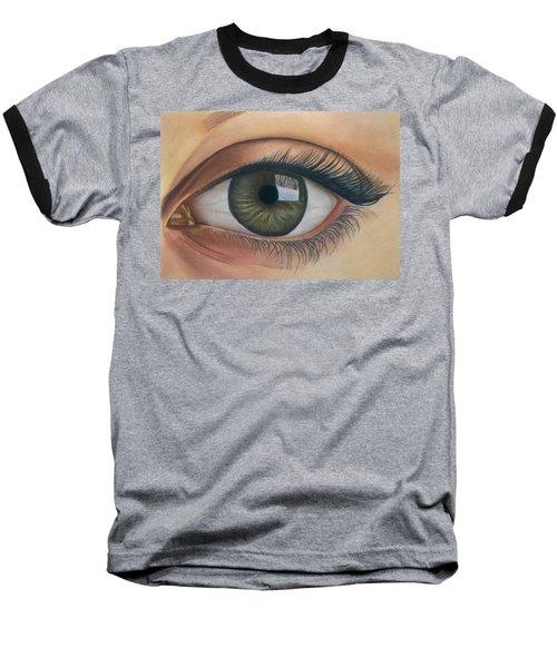 Eye - The Window Of The Soul Baseball T-Shirt