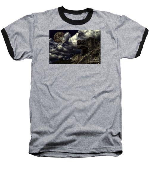Baseball T-Shirt featuring the photograph Eye To The Sky by Ken Frischkorn