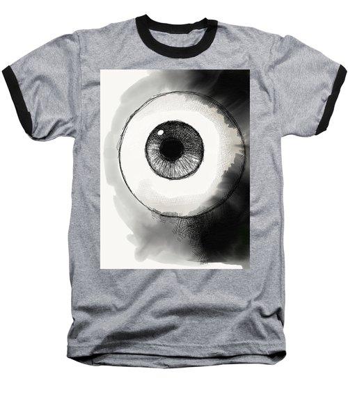 Eyeball Baseball T-Shirt by Antonio Romero