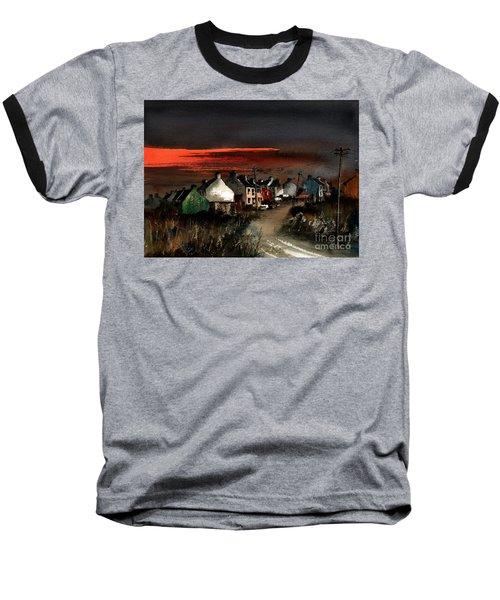 Cork Beara Eyeries Sunset Beara Baseball T-Shirt