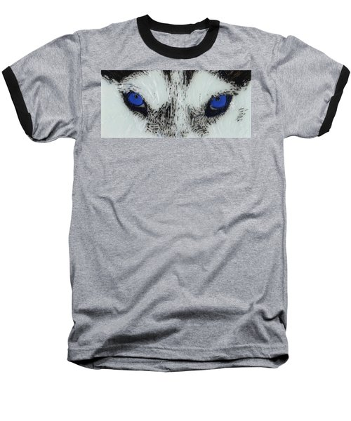Eyes Of The Wild Baseball T-Shirt