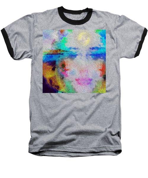 Eyes On The Horizon Baseball T-Shirt