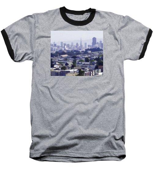 Looking East Toward San Francisco Baseball T-Shirt