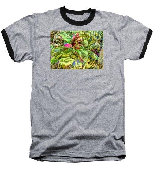 Eyes Baseball T-Shirt by Yury Bashkin