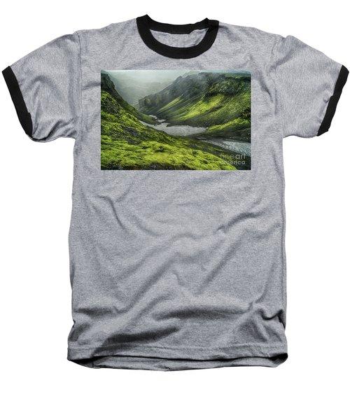 Eyjafjallajokull Iceland 4 Baseball T-Shirt