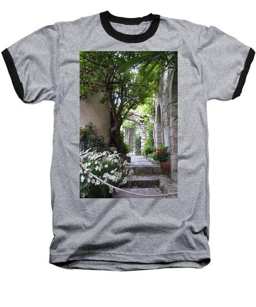 Eze Passageway Baseball T-Shirt by Carla Parris