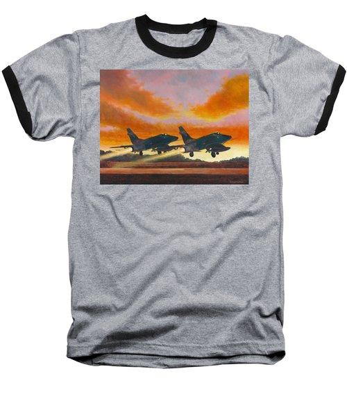 F-100d's Missouri Ang At Dusk Baseball T-Shirt