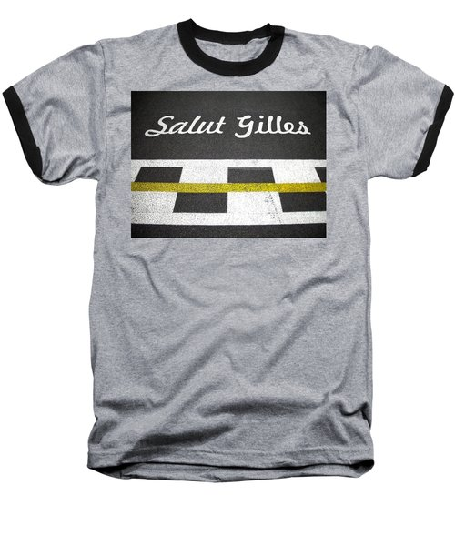 F1 Circuit Gilles Villeneuve - Montreal Baseball T-Shirt