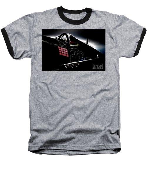 F4u Corsair Six Fifties Sixteen Kills Dark Baseball T-Shirt