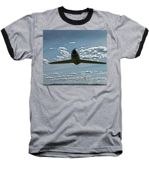 F86 Baseball T-Shirt by Diane E Berry