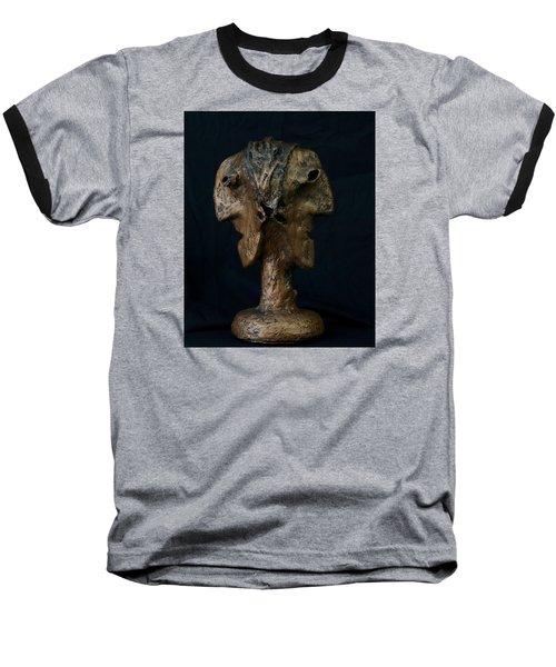 Fabulas Janus Bust  Baseball T-Shirt
