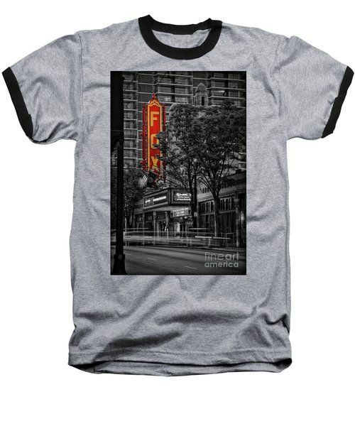Fabulous Fox Theater Baseball T-Shirt