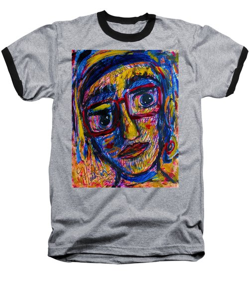 Face 11 Baseball T-Shirt