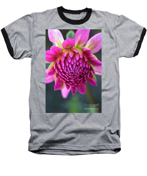 Face Of Dahlia Baseball T-Shirt