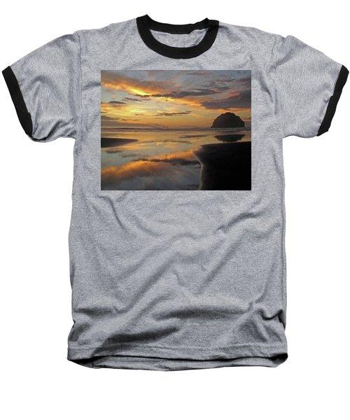 Face Rock Beauty Baseball T-Shirt by Suzy Piatt