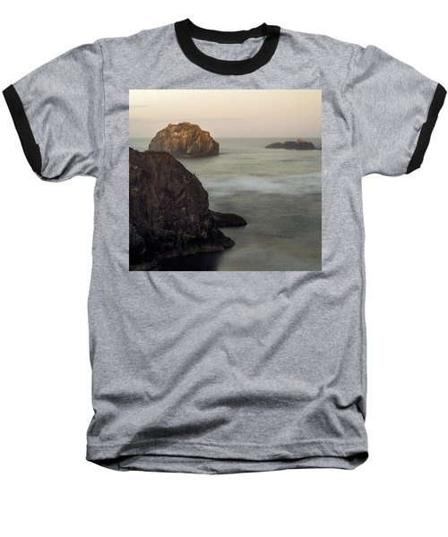 Face Rock Sunrise Baseball T-Shirt