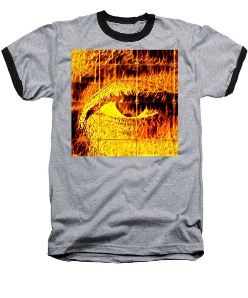Face The Fire Baseball T-Shirt
