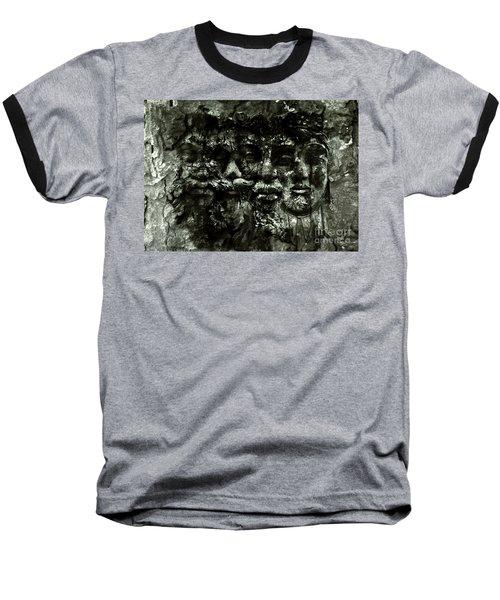 Faces Baseball T-Shirt