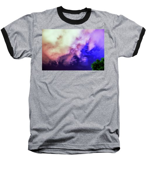 Faces In The Clouds 002 Baseball T-Shirt