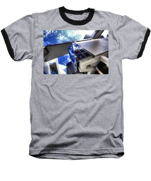 Baseball T-Shirt featuring the photograph Facetted by Wayne Sherriff
