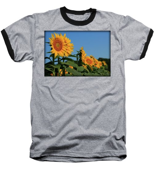 Baseball T-Shirt featuring the photograph Facing East by Chris Berry